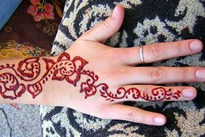 Bat Mitzvah Entertainment Henna Tattoo Artist